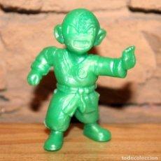Figuras de Goma y PVC: FIGURA DE KRILIN - DRAGON BALL - VERDE METALIZADO - 6.5CM - YOLANDA. Lote 222248046