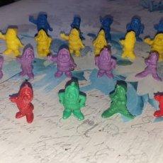 Figuras de Goma y PVC: 26 FIGURAS BLANCANIEVES Y LOS 7 ENANITOS. Lote 222251591