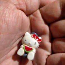 Figuras de Goma y PVC: FIGURAS DE PVC MUÑECA HELLO KITTY MUÑECO PLASTICO DURO. Lote 222261940