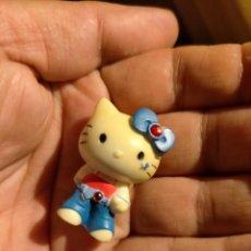 Figuras de Goma y PVC: FIGURAS DE PVC MUÑECA HELLO KITTY MUÑECO PLASTICO DURO. Lote 222262040