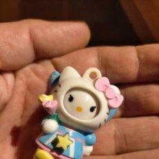 Figuras de Goma y PVC: FIGURAS DE PVC MUÑECA HELLO KITTY MUÑECO PLASTICO DURO. Lote 222262062
