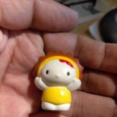 Figuras de Goma y PVC: FIGURAS DE PVC MUÑECA HELLO KITTY MUÑECO PLASTICO DURO. Lote 222262575