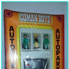 """Figuras de Goma y PVC: COMANSI COMANBOYS """"AUTOPARKING"""" SELLADO ABSOLUTO ESTRENO AÑOS 70 !!!. Lote 222281370"""
