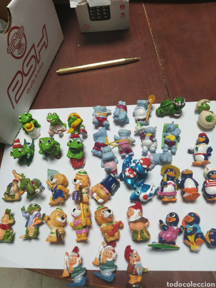 LOTE MUÑECOS KINDER AÑOS 90 (Juguetes - Figuras de Gomas y Pvc - Kinder)