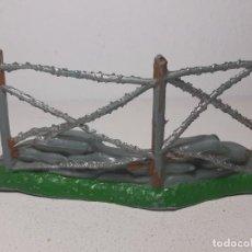 Figuras de Goma y PVC: COMANSI : ANTIGUA VALLA - ALAMBRADA - SOLDADOS DEL MUNDO - AMERICANOS AÑOS 70. Lote 222306008