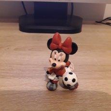 Figuras de Goma y PVC: FIGURA PVC SELECCIÓN ESPAÑOLA BULLYLAND MICKEY MINNIE DONALD GOOFY.. Lote 222368358