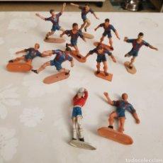 Figuras de Goma y PVC: 10 JUGADORES BARÇA COMANSI.. Lote 222368602