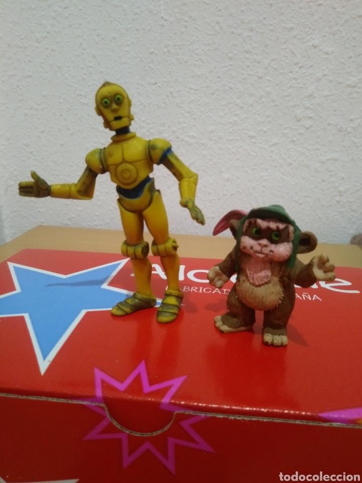 FIGURAS GOMA PVC STAR WARS CÓMICS SPAIN. (Juguetes - Figuras de Goma y Pvc - Comics Spain)