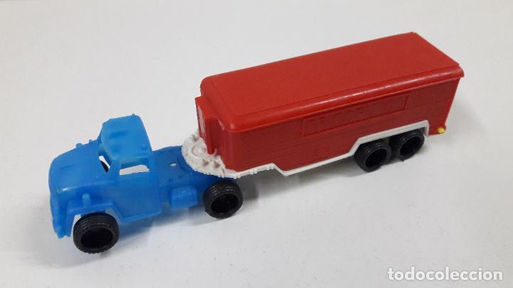 Figuras de Goma y PVC: GRANDES TRANSPORTES - CAMION FRIGORIFICO . MARCA VAM - ZARAGOZA . JUGUETE KIOSKO AÑOS 70 - Foto 2 - 222441027