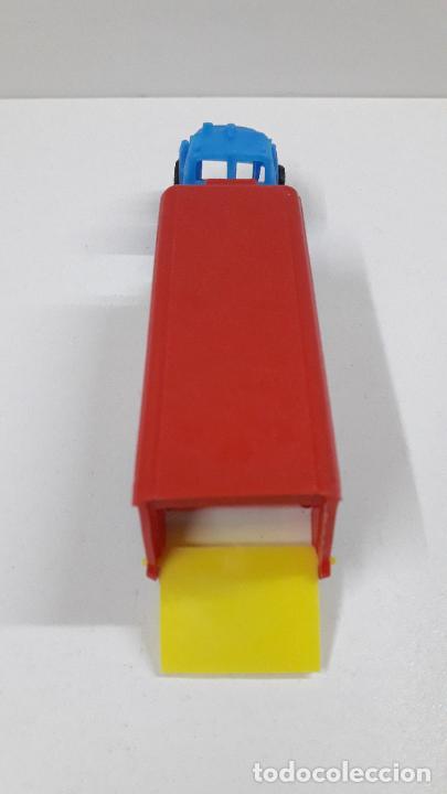 Figuras de Goma y PVC: GRANDES TRANSPORTES - CAMION FRIGORIFICO . MARCA VAM - ZARAGOZA . JUGUETE KIOSKO AÑOS 70 - Foto 5 - 222441027