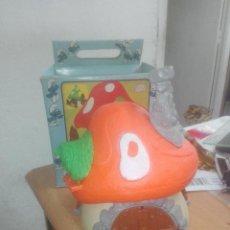 Figuras de Goma y PVC: CASA PITUFOS GRANDE SCHLEICH-PEYO REF 4.0001 --ALEMANIA-- CON CAJA. Lote 222454615