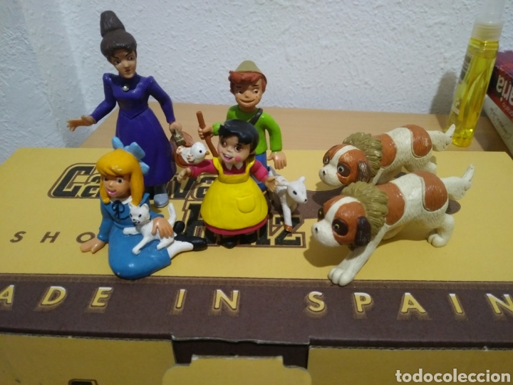 FIGURAS COMICS SPAIN SERIE TV HEIDI. (Juguetes - Figuras de Goma y Pvc - Comics Spain)