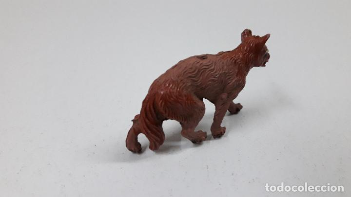 Figuras de Goma y PVC: LOBO . REALIZADO POR LAFREDO . ORIGINAL AÑOS 50 EN GOMA - Foto 3 - 222487126