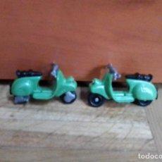 Figuras Kinder: HUEVOS KINDER 2 MOTOS ANTIGUAS VESPA. Lote 222584461