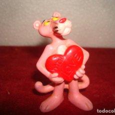 Figuras de Goma y PVC: PANTERA ROSA BULLY 1983 6,50 CM. Lote 222595288