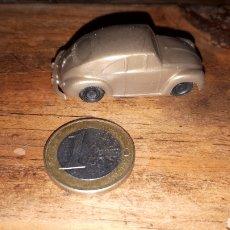 Figuras de Goma y PVC: COCHE DUNKIN DETERGENTE ESE VOLKSWAGEN ESCARABAJO. Lote 222612062