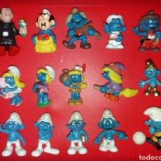 Figuras de Goma y PVC: LOTE DE FIGURAS PVC PITUFOS SCHLEICH PORTUGAL. Lote 222613956