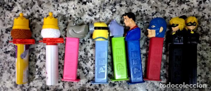 Dispensador Pez: Lote 9 Dispensadores PEZ 1 Repetido - Foto 3 - 222629992