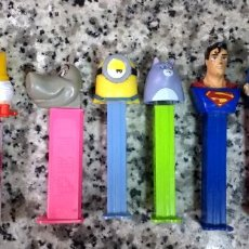 Dispensador Pez: LOTE 9 DISPENSADORES PEZ 1 REPETIDO. Lote 222629992