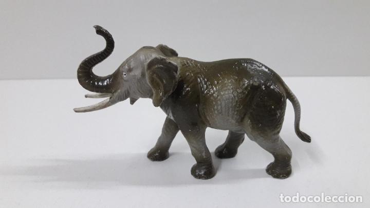 Figuras de Goma y PVC: ELEFANTE . REALIZADO POR STARLUX . SERIE CIRCO - ANIMALES SALVAJES . ORIGINAL AÑOS 60 - Foto 4 - 222637446