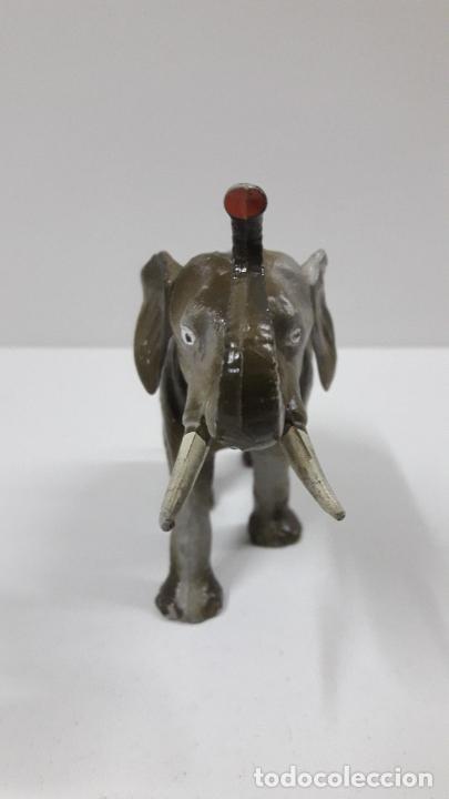 Figuras de Goma y PVC: ELEFANTE . REALIZADO POR STARLUX . SERIE CIRCO - ANIMALES SALVAJES . ORIGINAL AÑOS 60 - Foto 5 - 222637446
