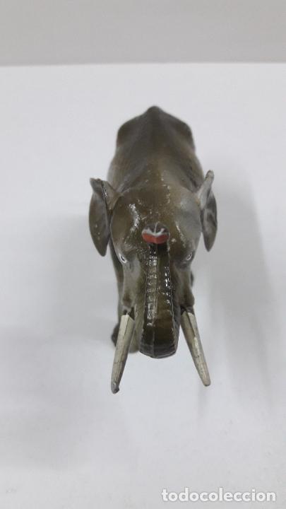 Figuras de Goma y PVC: ELEFANTE . REALIZADO POR STARLUX . SERIE CIRCO - ANIMALES SALVAJES . ORIGINAL AÑOS 60 - Foto 6 - 222637446
