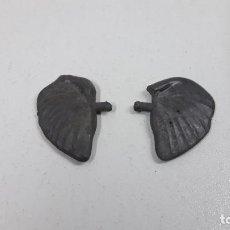 Figuras de Goma y PVC: OREJAS DESMONTABLES PARA EL ELEFANTE DE PECH . ORIGINAL AÑOS 50 EN GOMA. Lote 222639185
