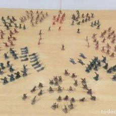 Figuras de Goma y PVC: LOTE DE 175 SOLDADITOS MONTAPLEX - EJÉRCITO ESPAÑOL - EJÉRCITO ITALIANO. Lote 222676160