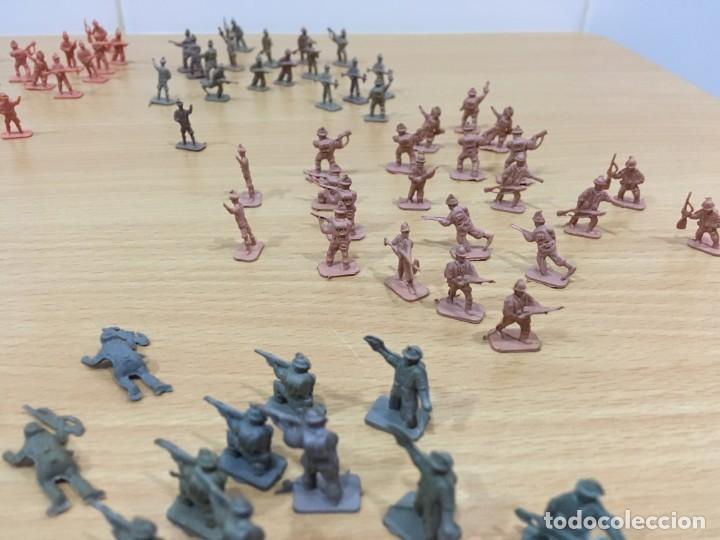 Figuras de Goma y PVC: LOTE DE 175 SOLDADITOS MONTAPLEX - EJÉRCITO ESPAÑOL - EJÉRCITO ITALIANO - Foto 4 - 222676160