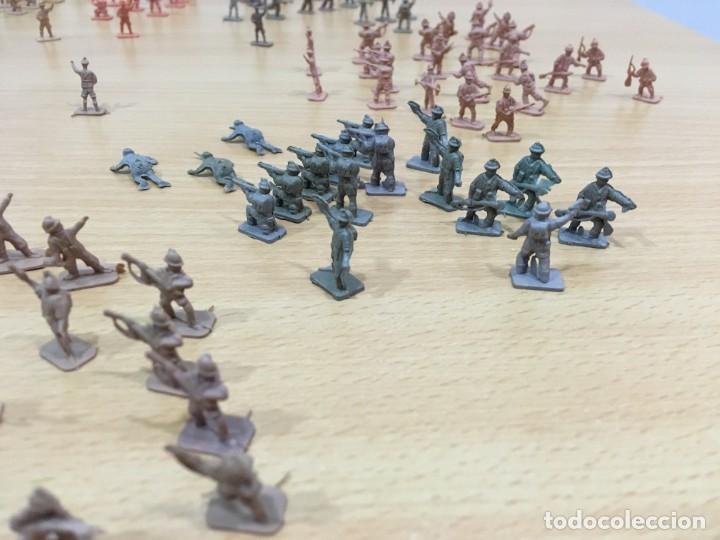Figuras de Goma y PVC: LOTE DE 175 SOLDADITOS MONTAPLEX - EJÉRCITO ESPAÑOL - EJÉRCITO ITALIANO - Foto 5 - 222676160