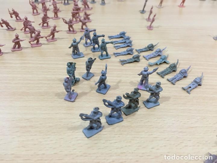 Figuras de Goma y PVC: LOTE DE 175 SOLDADITOS MONTAPLEX - EJÉRCITO ESPAÑOL - EJÉRCITO ITALIANO - Foto 7 - 222676160