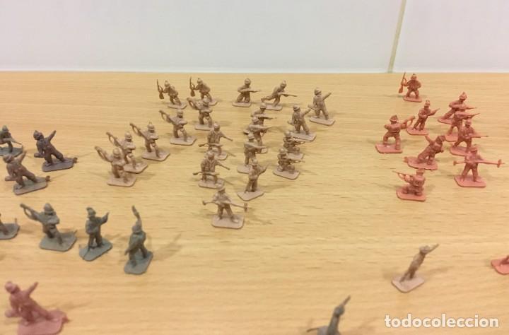 Figuras de Goma y PVC: LOTE DE 175 SOLDADITOS MONTAPLEX - EJÉRCITO ESPAÑOL - EJÉRCITO ITALIANO - Foto 10 - 222676160