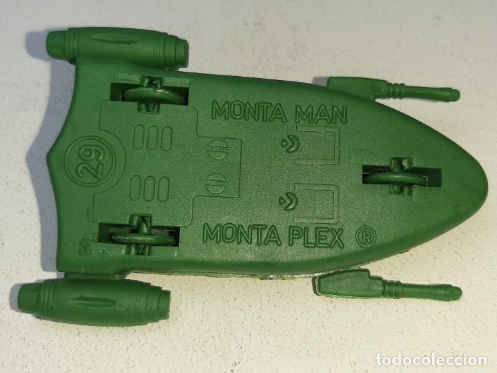 Figuras de Goma y PVC: MONTA MAN - MONTAMAN - MONTAPLEX : ANTIGUA NAVE ESPACIAL REF. Nº 29 AÑOS 70 / 80 - Foto 9 - 222732863