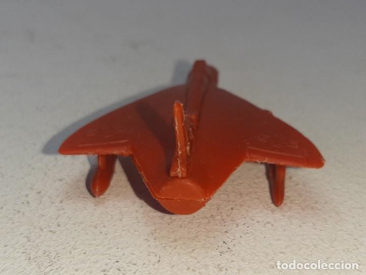 Figuras de Goma y PVC: MONTA MAN - MONTAMAN - MONTAPLEX : ANTIGUO AVION SKYRAY REF. Nº 609 AÑOS 70 / 80 - Foto 5 - 222733220