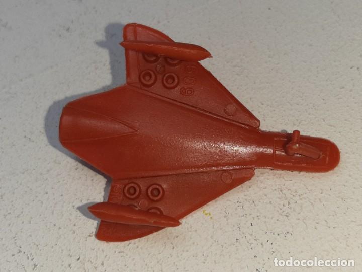 Figuras de Goma y PVC: MONTA MAN - MONTAMAN - MONTAPLEX : ANTIGUO AVION SKYRAY REF. Nº 609 AÑOS 70 / 80 - Foto 6 - 222733220