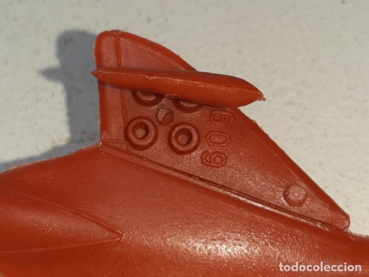 Figuras de Goma y PVC: MONTA MAN - MONTAMAN - MONTAPLEX : ANTIGUO AVION SKYRAY REF. Nº 609 AÑOS 70 / 80 - Foto 7 - 222733220