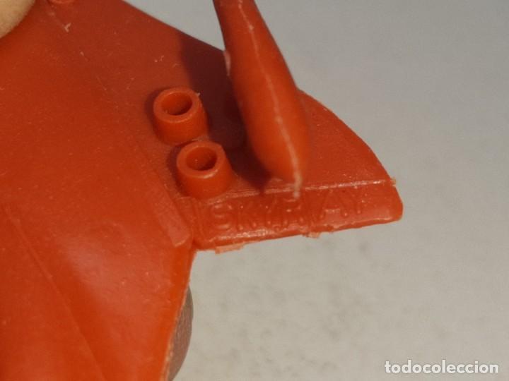 Figuras de Goma y PVC: MONTA MAN - MONTAMAN - MONTAPLEX : ANTIGUO AVION SKYRAY REF. Nº 609 AÑOS 70 / 80 - Foto 9 - 222733220