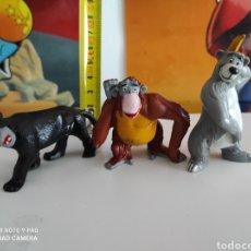 Figuras de Goma y PVC: FIGURAS DEL LIBRO DE LA SELVA WALT DISNEY BULLY 1984. Lote 222838931