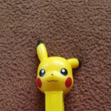 Dispensador Pez: PEZ POKEMON PICACHU DISPENSADOR DE CARAMELOS. Lote 222875500