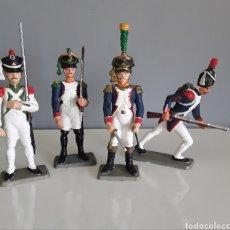 Figuras de Goma y PVC: SOLDADOS NAPOLEÓNICOS FRANCESES, SERIE 1ER IMPERIO DE STARLUX (FRANCE) AÑOS 70, COMP. JECSAN/PECH.. Lote 222889073