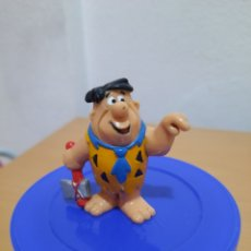 Figuras de Goma y PVC: FIGURA GOMA PVC PEDRO LOS PICAPIEDRA BULLY HANNA BARBERA.. Lote 222900876