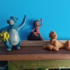 Figuras de Goma y PVC: COMICS SPAIN,LOTE LIBRO DE LA SELVA,3 FIGURAS. Lote 222979812
