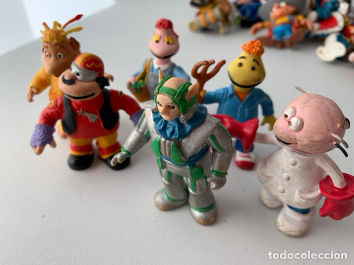 LOTE 6 FIGURAS PVC LOS MUNDOS DE YUPI - COMICS SPAIN - BUEN ESTADO (Juguetes - Figuras de Goma y Pvc - Comics Spain)