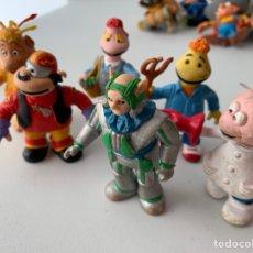 Figuras de Goma y PVC: LOTE 6 FIGURAS PVC LOS MUNDOS DE YUPI - COMICS SPAIN - BUEN ESTADO. Lote 222995992