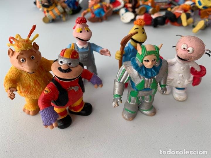 Figuras de Goma y PVC: LOTE 6 FIGURAS PVC LOS MUNDOS DE YUPI - COMICS SPAIN - BUEN ESTADO - Foto 2 - 222995992