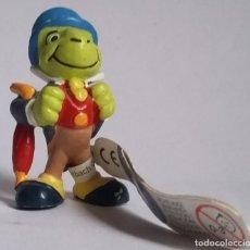 Figuras de Goma y PVC: PVC FIGURA PEPITO GRILLO-PINOCHO-DISNEY-BULLYLAND-CON ETIQUETA. Lote 223264051
