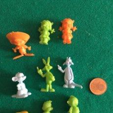 Figuras de Goma y PVC: FIGURAS DUNKIN WARNER BROS AÑOS 80. Lote 223532476