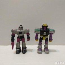 Figuras de Goma y PVC: PEQUEÑOS ROBOTS - MARCA SOMA - VER FOTOS. Lote 223589501