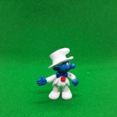 Figuras de Borracha e PVC: FIGURA PITUFO NOVIO - PEYO SCHLEICH - 5.5 CM ALTURA - AÑO 1991. Lote 223589708