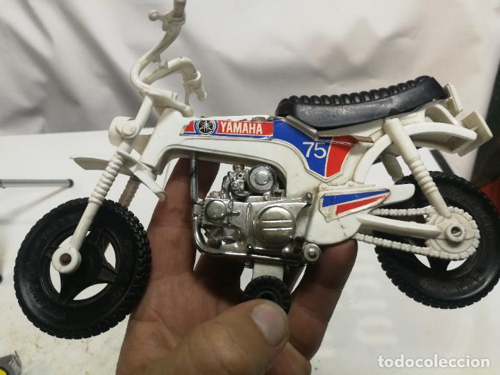 Figuras de Goma y PVC: MOTO TRIAL CROS YAMAHA 75 DE SHAMBERS SHAMBERS VALENCIA PLASTICO - Foto 3 - 223663225